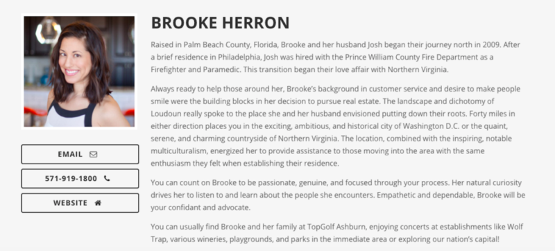 Brooke Herron      of Pearson Smith Realty