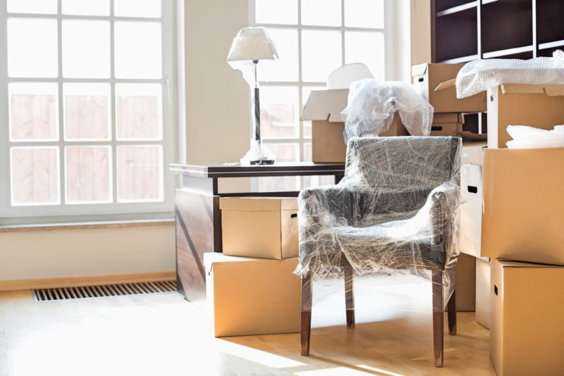 moving boxes packed - last-minute moving tips