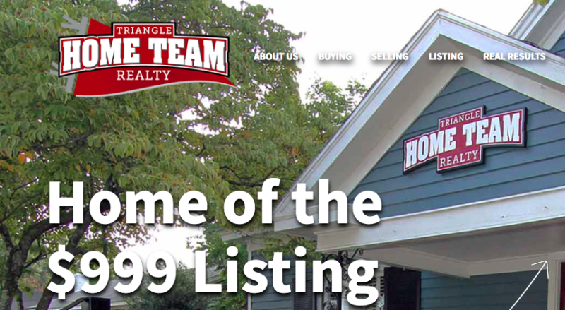 triangle-home-team-realty-homepage_real-estate-branding